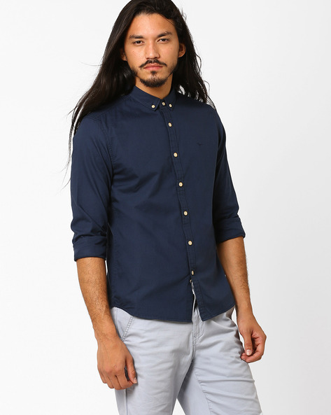 Slim Fit Cotton Shirt By FLYING MACHINE ( Assorted ) - 440720151004