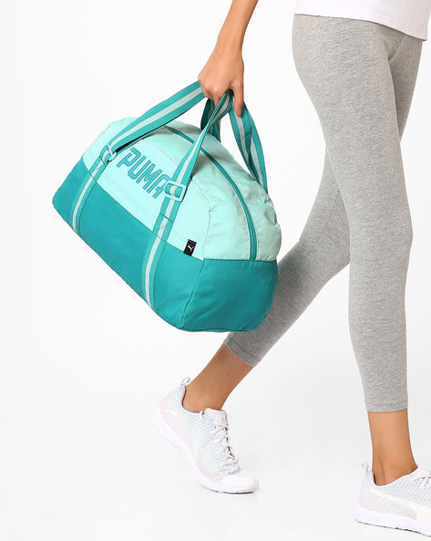 Fundamentals Gym Bag By Puma ( Turquoise )
