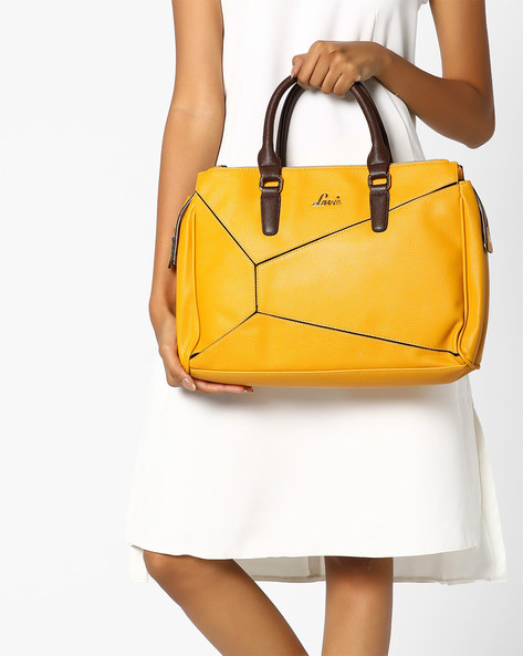 Sling Bag With Detachable Strap By Lavie ( Mustard )