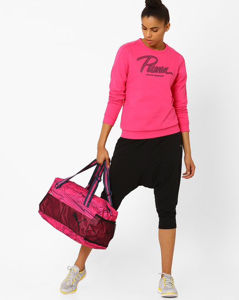 Fundamentals Sports Bag II By Puma ( Fuchsia )