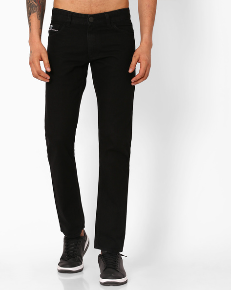 Slim Fit Cotton Jeans By JOHN PLAYERS ( Blue )