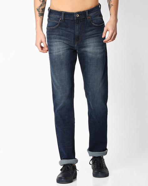 Mid-Rise Slim Fit Django Jeans By FLYING MACHINE ( Assorted )