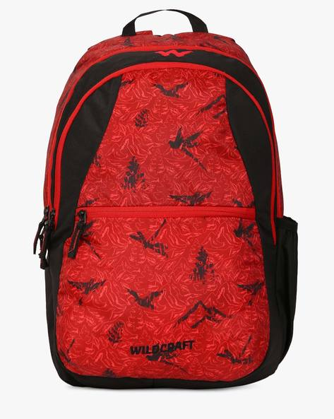Nature 1 Backpack By Wildcraft ( Red )