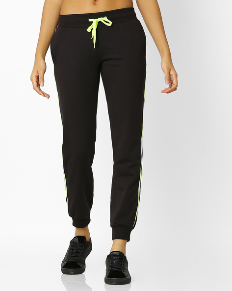 Joggers With Elasticated Waist By Teamspirit ( Black )