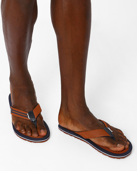 Thong-Style Soho Flip-Flops By Sole Threads ( Tan )