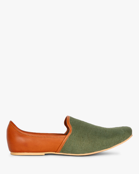 AJIO - Colourblock Casual Nagra Shoes
