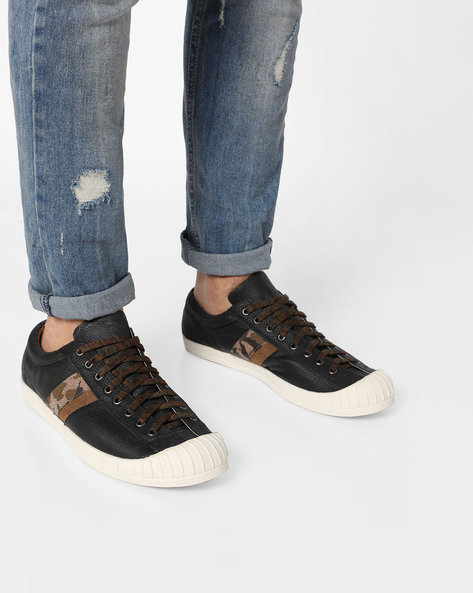 Lace-up Casual Shoes By Knotty Derby ( Black )