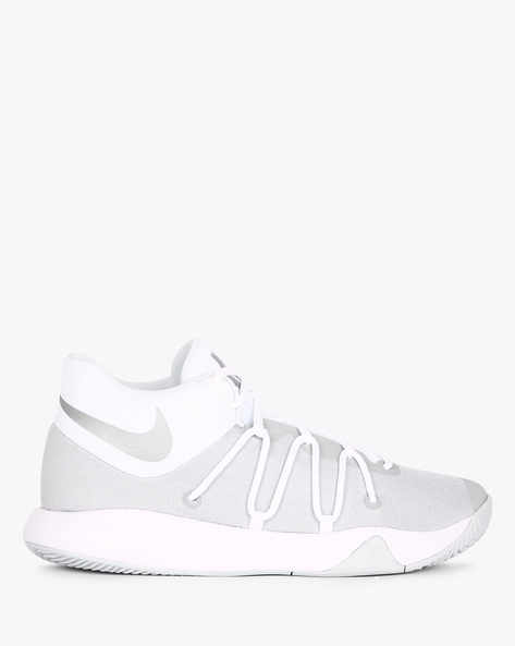 Colourblock Sneakers With Lace-Up Fastening By NIKE ( White )