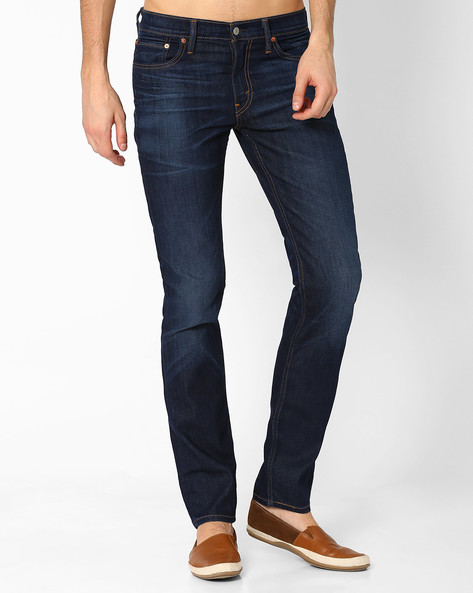 511 Lightly Washed Slim Fit Jeans By LEVIS ( Blue )
