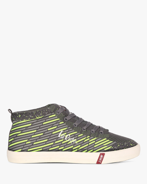 Sneakers With Lace-Up Fastening By Lee Cooper ( Grey )