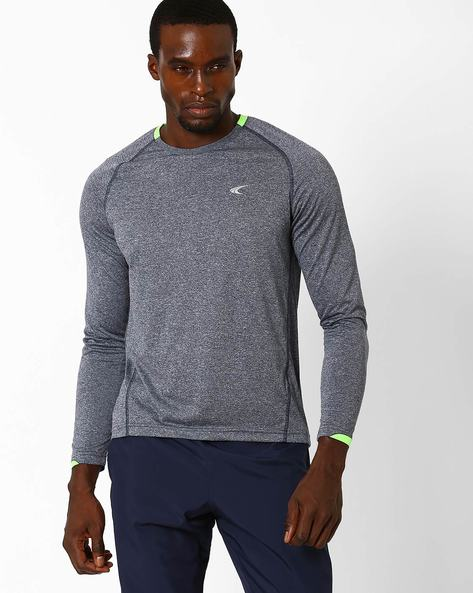 Training T-shirt With Raglan Sleeves By PERFORMAX ( Navy )