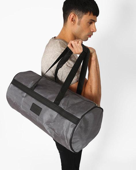 Denier Duffel Bag By FAMOZI ( Grey )
