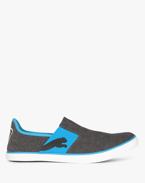 Lazy II DP Slip-On Shoes By Puma ( Black )