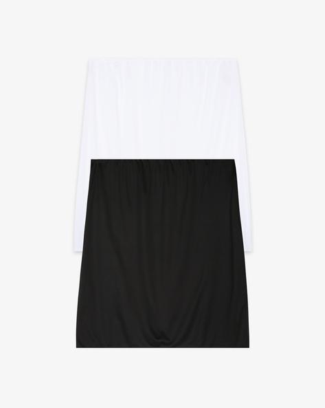 Pack Of 2 Skirt Slips By Marks & Spencer ( White )