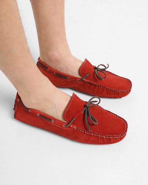 Slip-On Shoes With Nubs Outsole By Acuto ( Red )