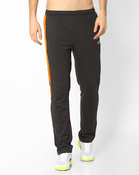 Regular Fit Track Pants With Elasticated Waist By 2Go ( Grey )