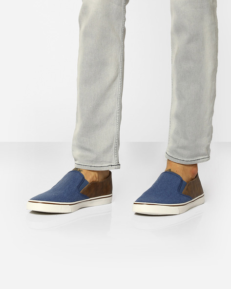 Colourblock Casual Canvas Shoes By UNITED COLORS OF BENETTON ( Navyblue )