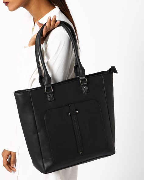 4ac512191fd Tote Bag With Rivets By Toteteca ( Black ) Best Deals With Price ...