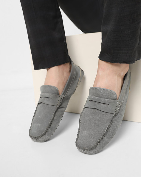 Slip-On Shoes With Nubs Outsole By Acuto ( Grey )