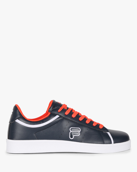 Waldo Low-Top Sneakers With Perforations By FILA ( Navy )