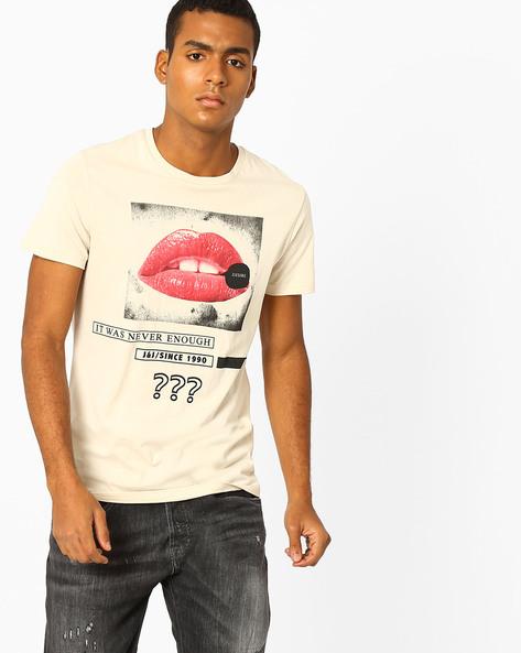 Slim Fit Crew-Neck T-shirt By Jack & Jones ( Grey )