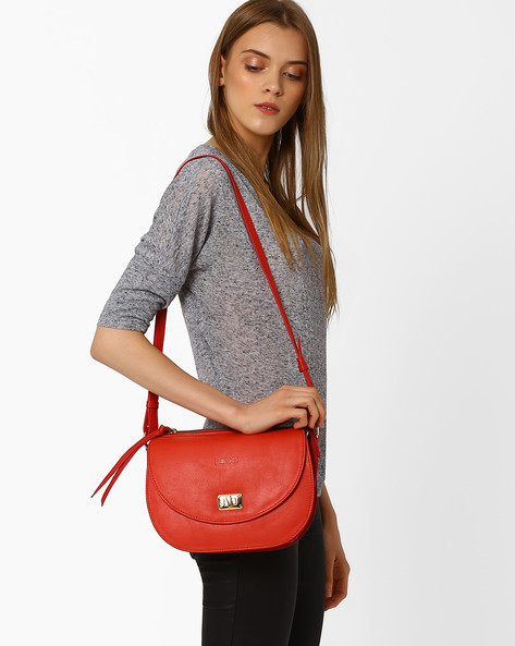 Sling Bag With Adjustable Strap By Pockit ( Red )