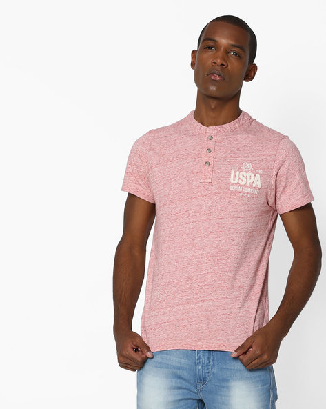 T-shirt With Placement Applique By US POLO ( Multi )