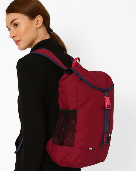 Academy Backpack By Puma ( Magenta )
