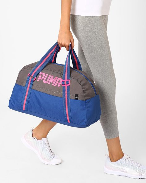 Fundamentals Gym Bag By Puma ( Navy )
