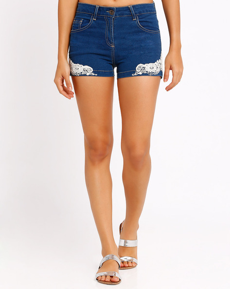 Denim Shorts By The Vanca ( Blue )