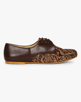 Kalamkari Oxfort Shoes Women