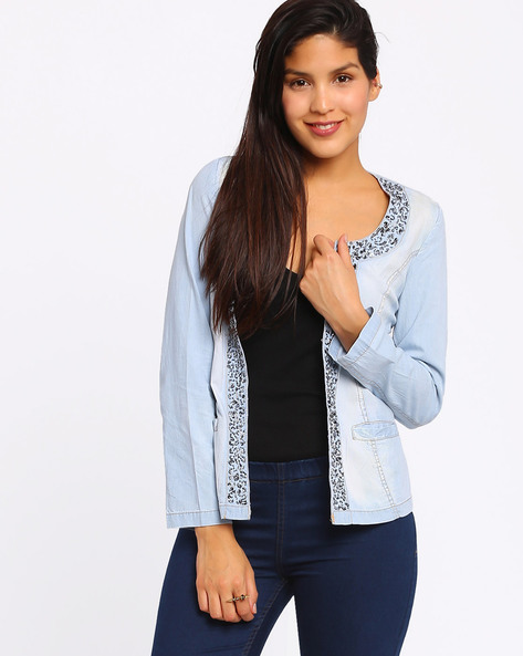 Denim Jacket By The Vanca ( Blue )