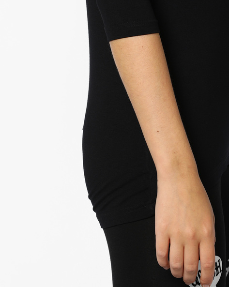 Knitted Viscose Top By CODE By Lifestyle ( Black )