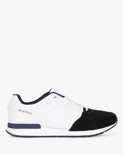 Colourblock Jogger Shoes With Toe Cap By UNITED COLORS OF BENETTON ( Black )