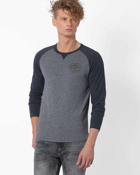 T-shirt With Raglan Sleeves By TEAM SPIRIT ( Terra )