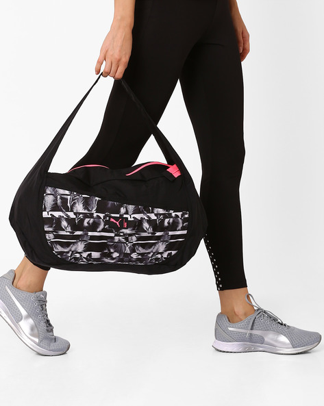 Studio Barrel Bag By Puma ( Black )