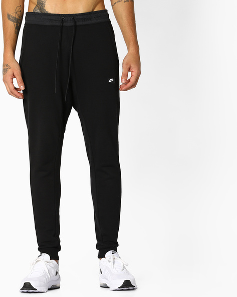Joggers With Elasticated Waist By NIKE ( Black )