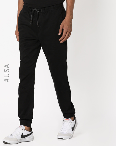 Joggers With Elasticated Waistband By Aeropostale ( Black )