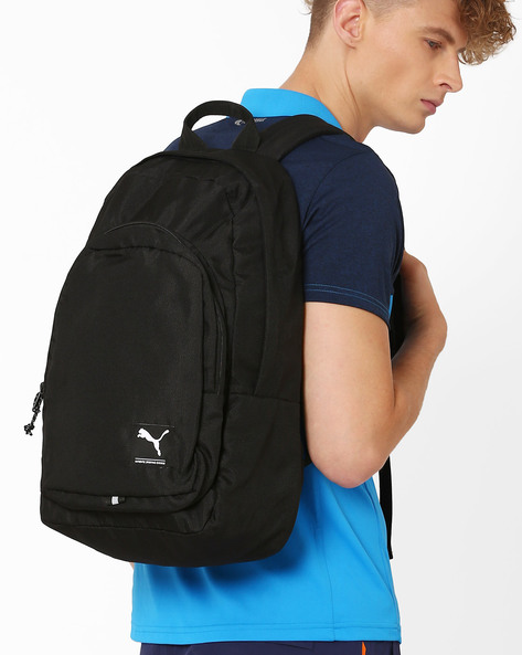 Academy Backpack With Adjustable Shoulder Straps By Puma ( Black )