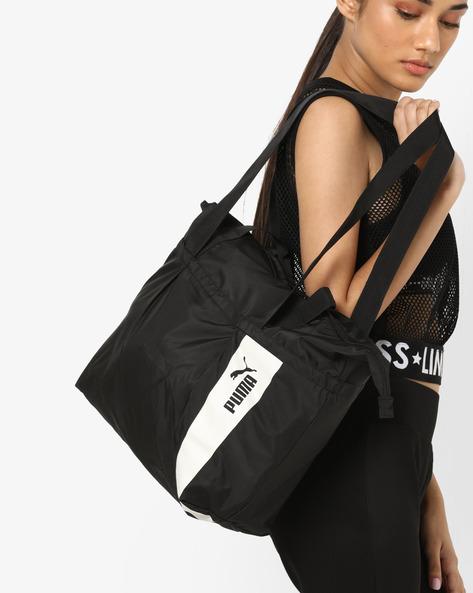 Core Style Large Shopper Bag By Puma ( Black )