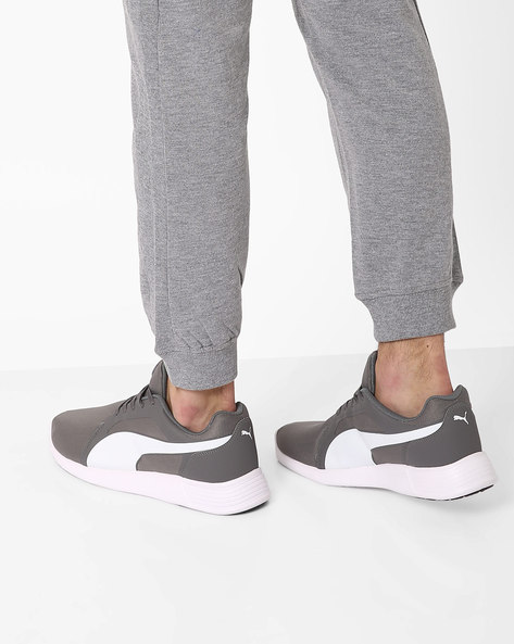 Lace-Up ST Sports Shoes By Puma ( Grey )