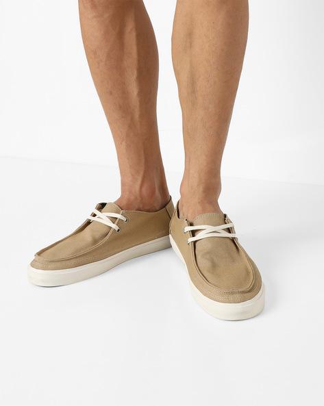 Rata Vulc SF Lace-Up Shoes By Vans ( Khaki )