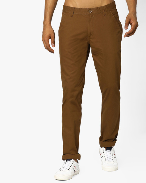 Cotton Slim Fit Chinos By JOHN PLAYERS ( Assorted )