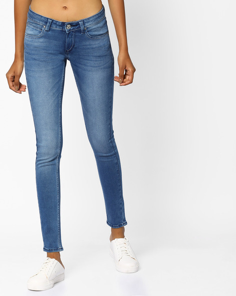 Light-Wash Sinny Fit Jeans By Lee ( Blue )