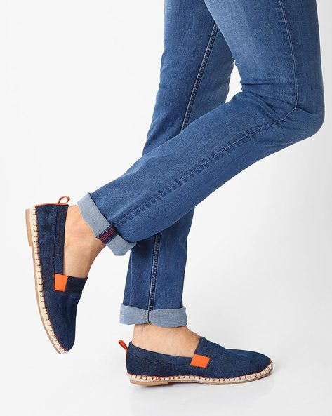 Canvas Espadrilles With Woven Midsole By AJIO ( Assorted ) - 460022953002