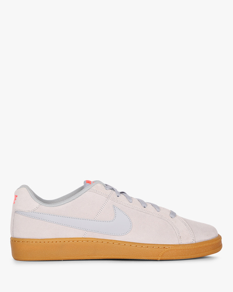 Panelled Sneakers With Lace-Up Fastening By NIKE ( Grey )