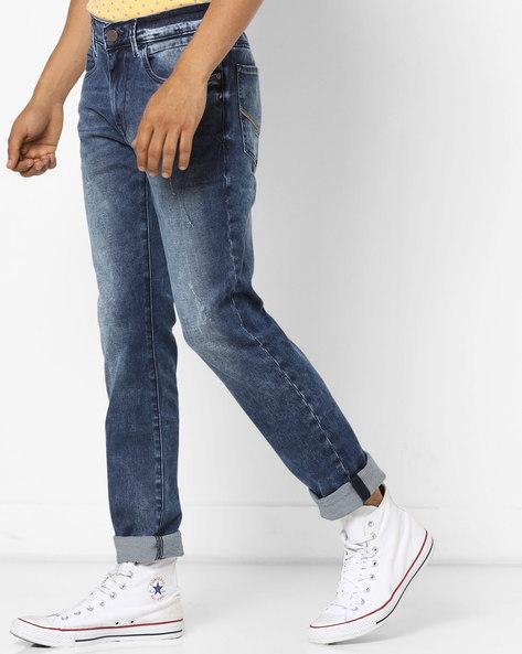 Regallo Acid-Wash Skinny Jeans By U.S. Polo Assn. ( Blue ) - 460062257006