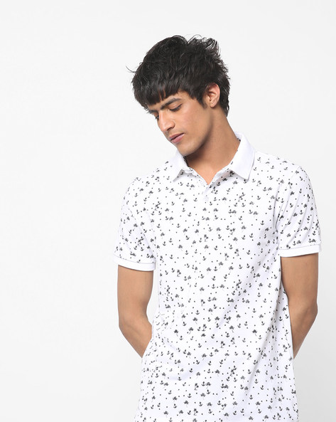 vans floral t shirt