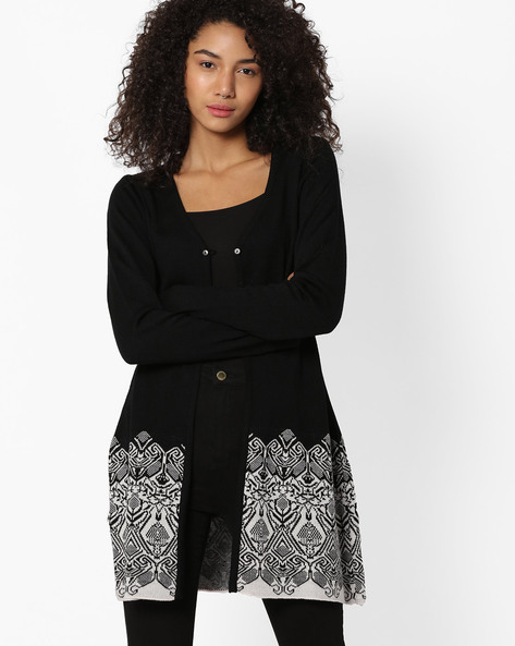 Long Winter Shrug By AVAASA MIX N' MATCH ( Black )