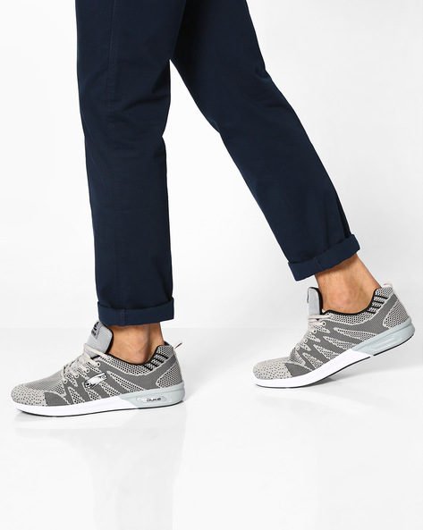 Sports Shoes With Mesh Panels By DUKE ( Grey )